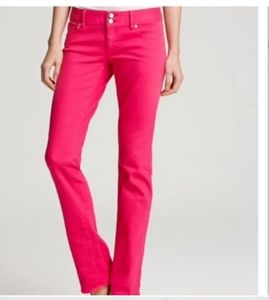 Lilly Pulitzer Pink Denim Jeans